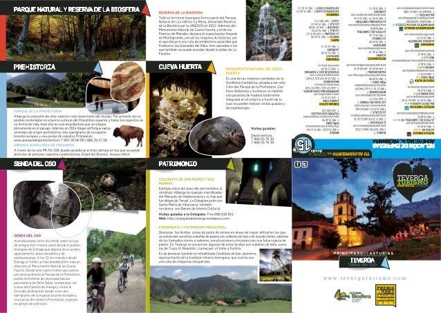 Calendario de actividades turísticas de Teverga 2014
