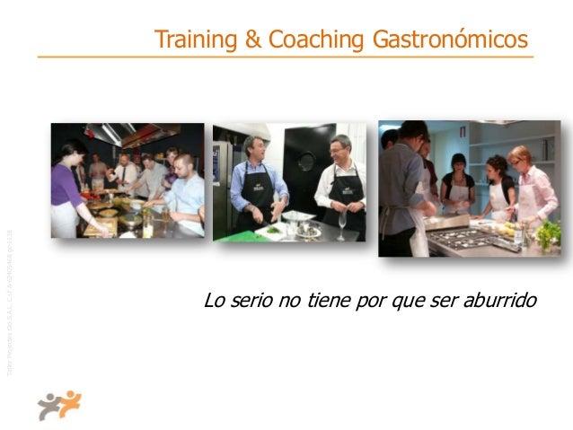 TallerProjectesOciS.A.L.C.i.fA-63405468gc-1138 Training & Coaching Gastronómicos Lo serio no tiene por que ser aburrido