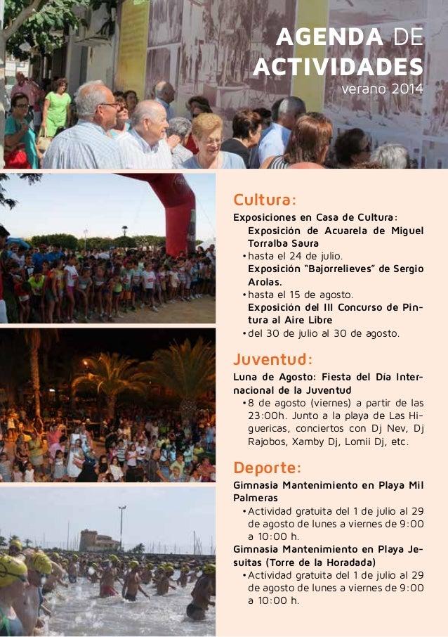 Folleto fiestas verano 2014 de pilar de la horadada - Casas para alquilar en las mil palmeras ...