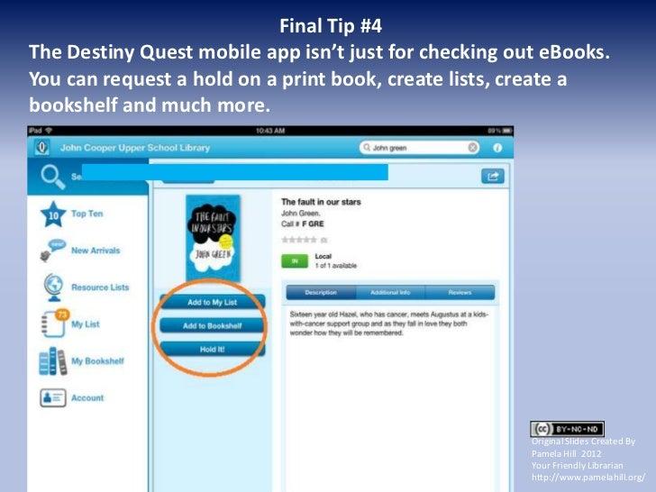 Library / Destiny Quest