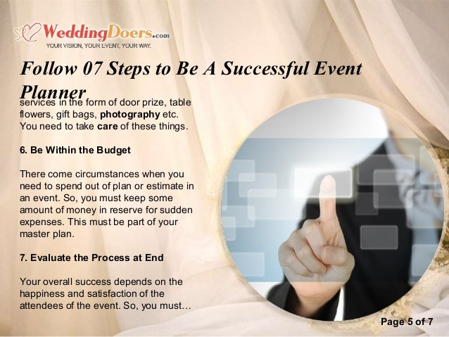 follow 07 steps to be a successful event planner 6