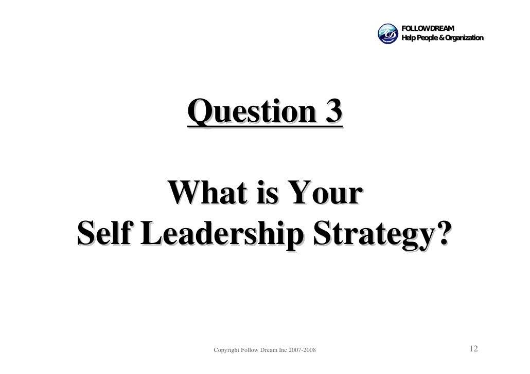 FOLLOW DREAM                                                 Help People & Organization            Question 3        What ...