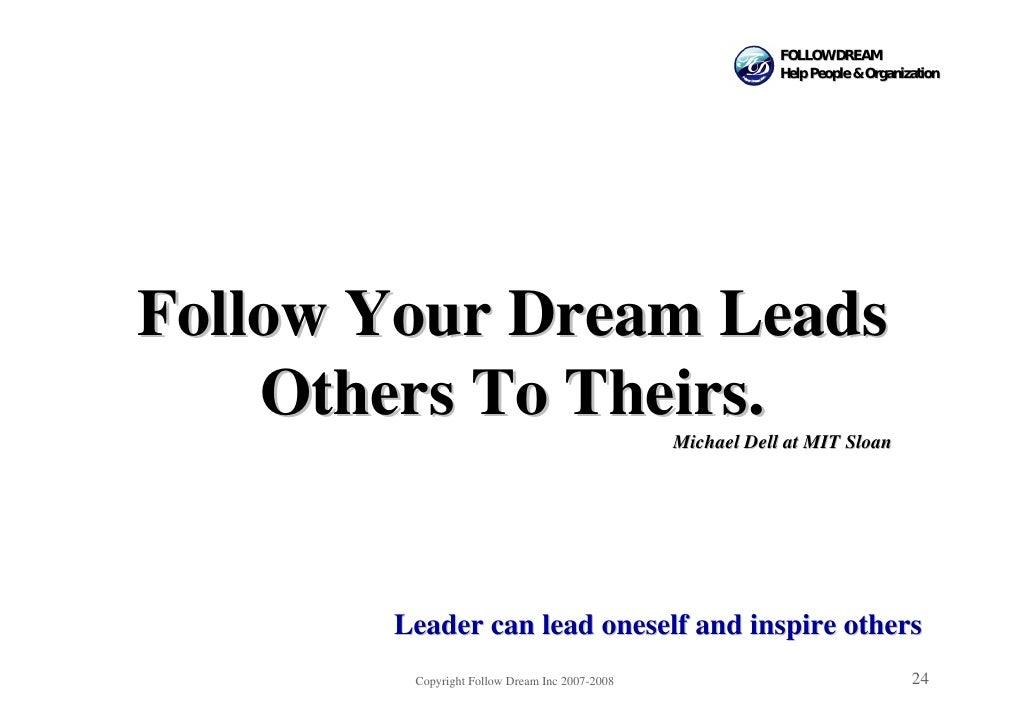 FOLLOW DREAM                                                            Help People & Organization     Follow Your Dream L...