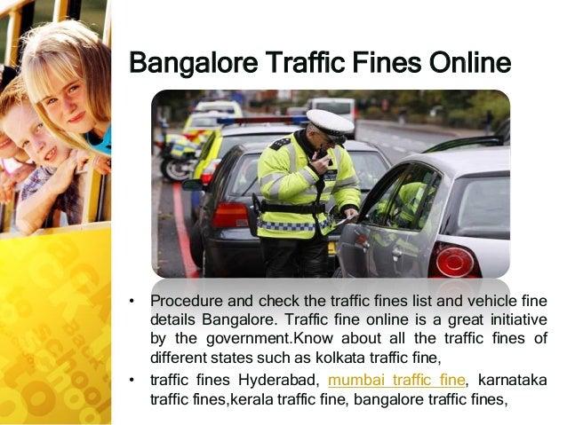 Follow Every Procedure Of Vehicle Fine Check ~ $Bangalore Traffic Pol…