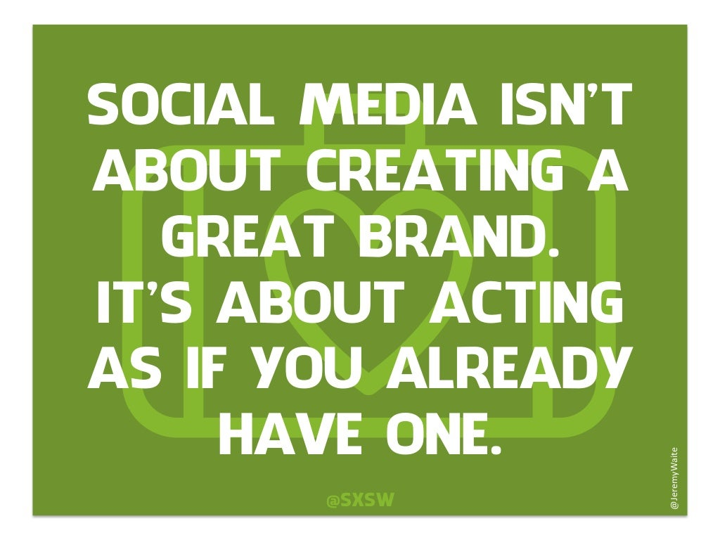 Social Media Quotes Social Media Isn't About Creating