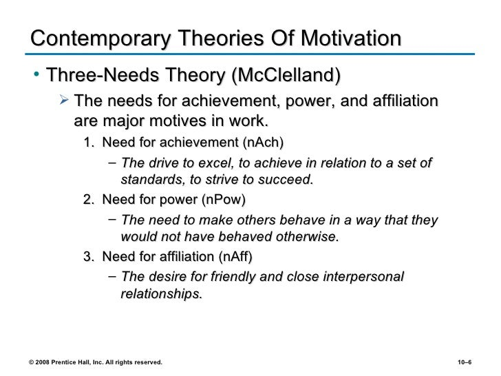 early and contemporary theories of motivation pdf