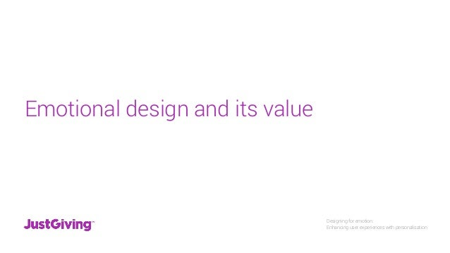 a52e53510b9d ... Problem statement  8. Designing for emotion  Enhancing user experiences  with personalisation ...
