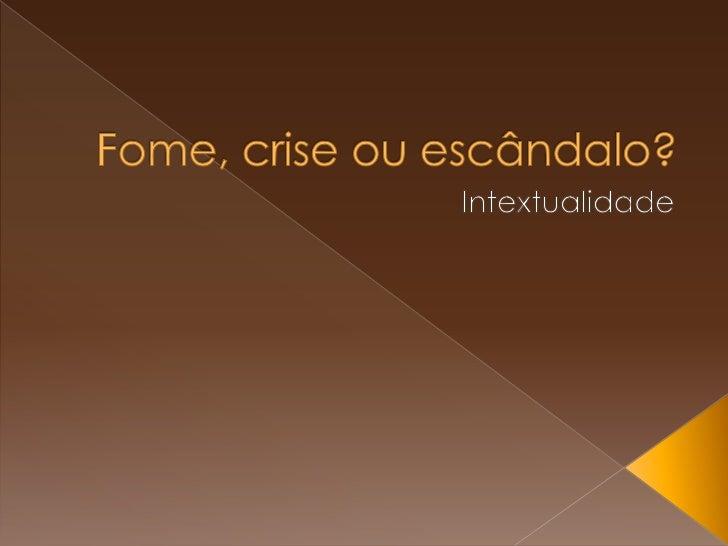 Capítulo 11: Alimentação: fatores culturais eeducacionaisCapítulo 12: Combate á fome no Brasil: o ProjoteFome Zero