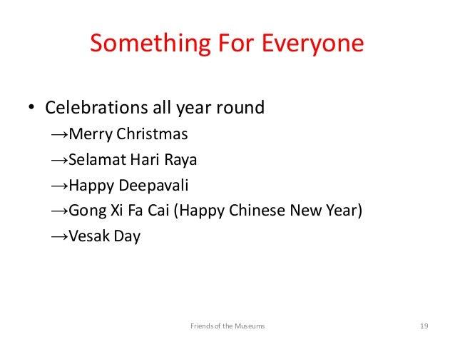 Fom singapore, islam and multiculturalism january 2013