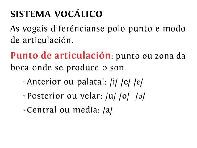 Fonética e fonoloxía da lingua galega
