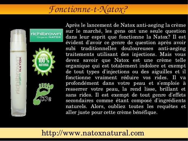 Fonctionne-t-Natox Slide 2