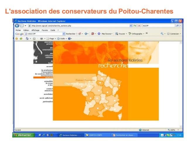 L'association des conservateurs du Poitou-Charentes