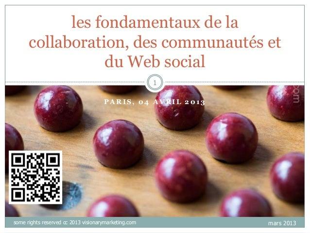 les fondamentaux de la      collaboration, des communautés et                 du Web social                               ...