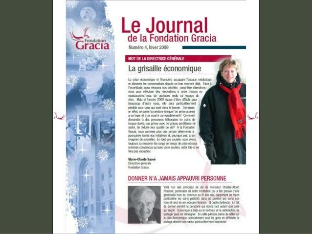 Journal de la Fondation Gracia - Numéro 4
