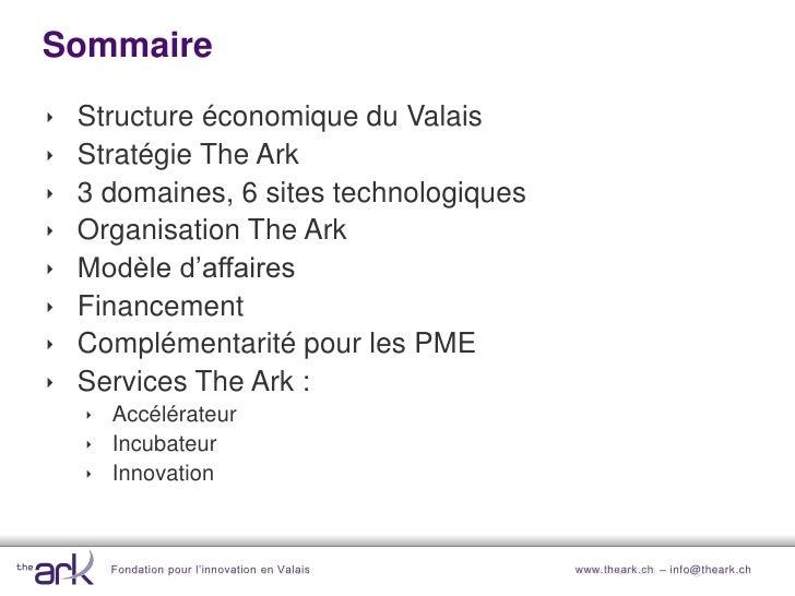 Structure économique du Valais                                                            Artisanat Industrie             ...