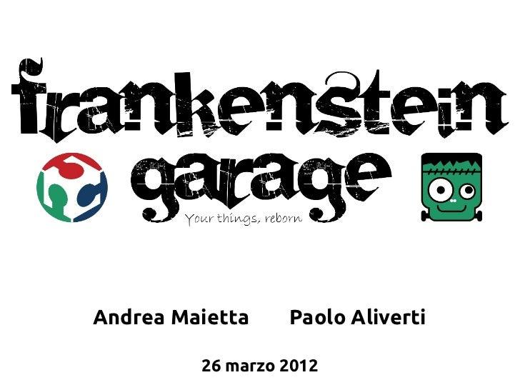 Andrea Maietta    Paolo Aliverti         26 marzo 2012