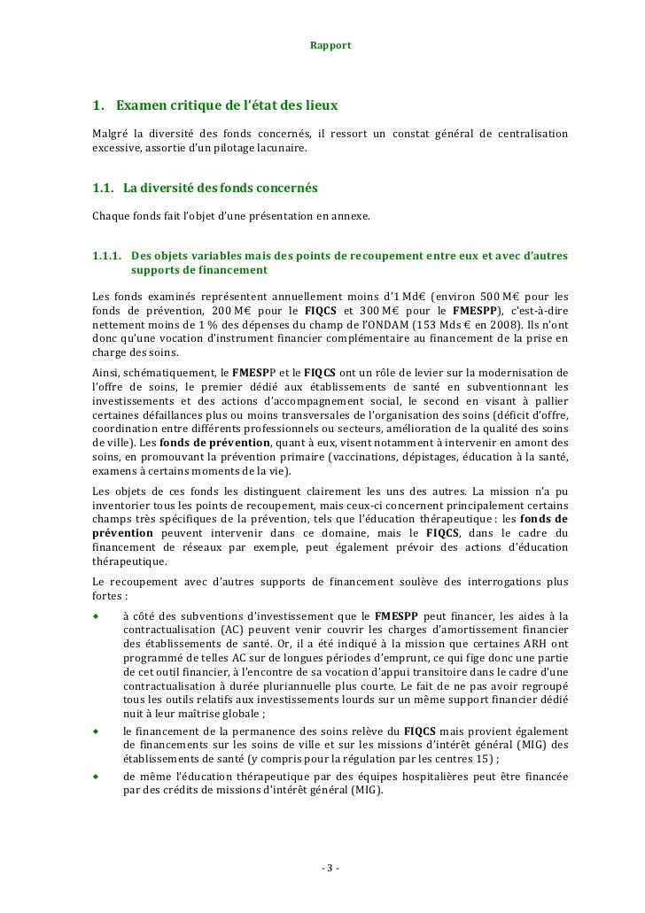 Rapport                                                                   1.2. Unecentralisationexcessive...Les resp...