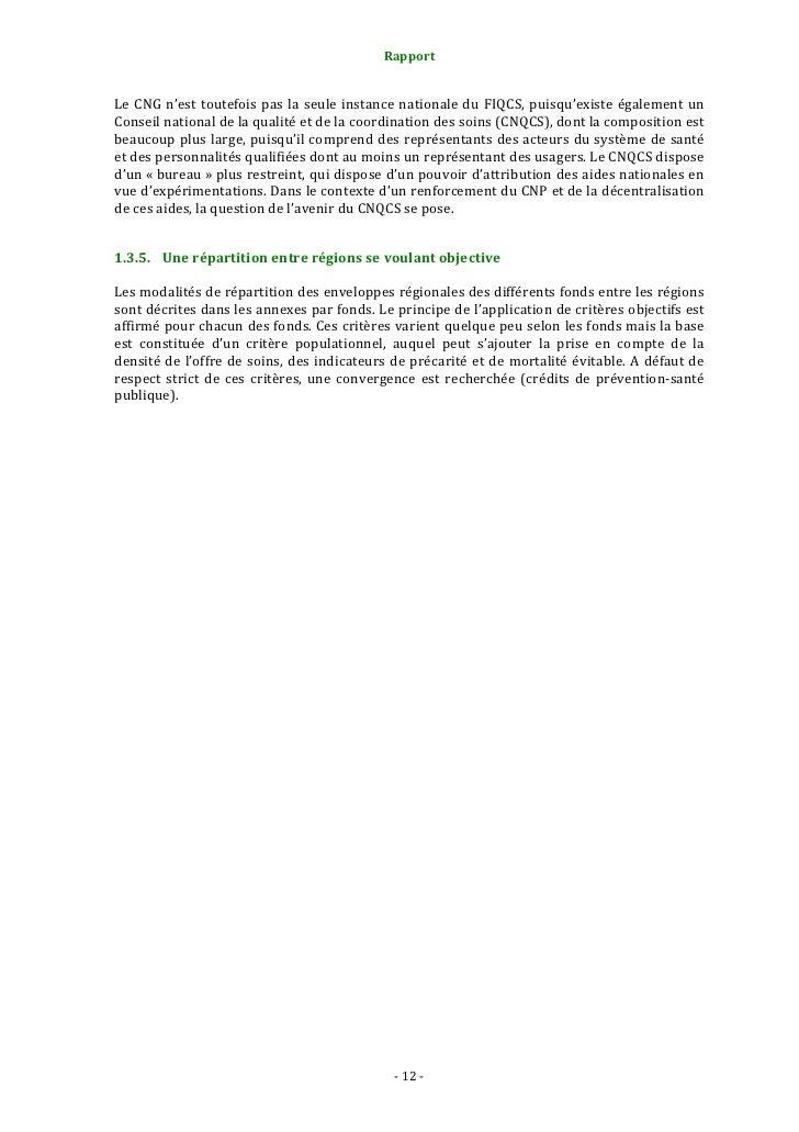 Rapport                                                                   2.1.1.1. Fixer les grandes orientations st...