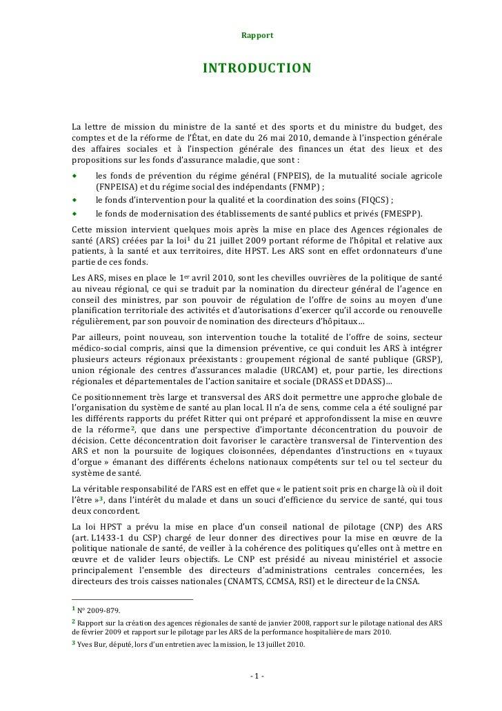 Rapport                                                   1. Examencritiquedel'étatdeslieuxMalgré la diversité ...