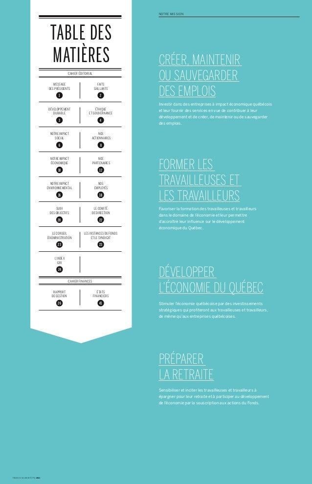 rapport annuel et de d veloppement durable 2013. Black Bedroom Furniture Sets. Home Design Ideas