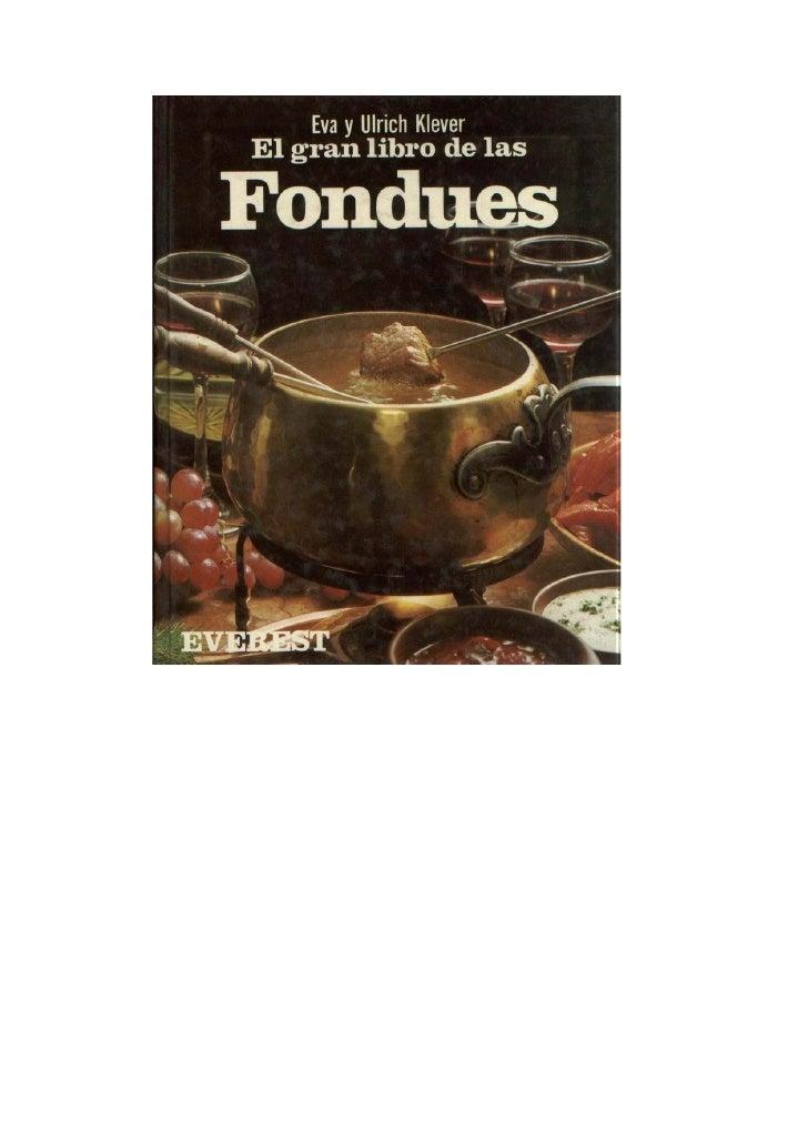 El gran libro de lasFondues