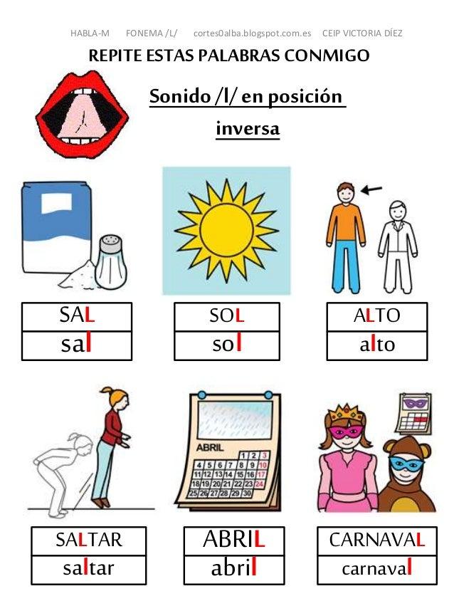 Proyecto HABLA-M: Fonema L ppt