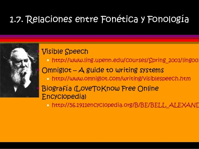 The best: transcripcion fonetica y fonologia online dating