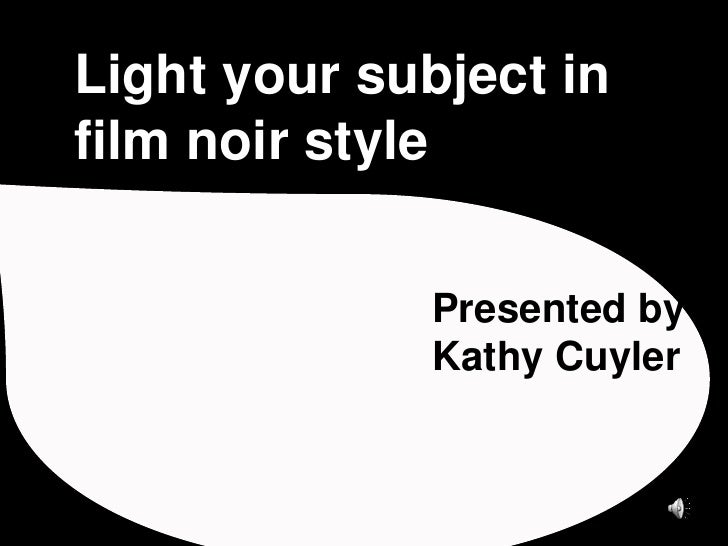an overview of film noir Film noir offers new perspectives on this highly popular and influential film genre, providing a useful overview of its historical evolution and the many critical.