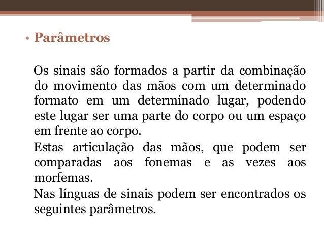 Fabuloso Fonologia de libras - andrea OU05