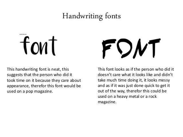 Handwriting Fonts This Font Is Neat