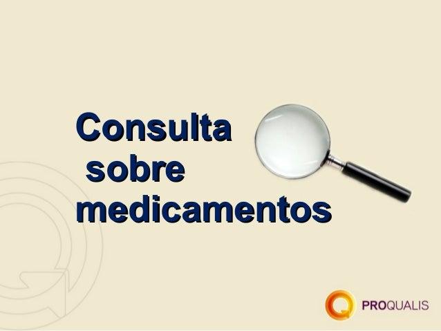 Consultasobremedicamentos