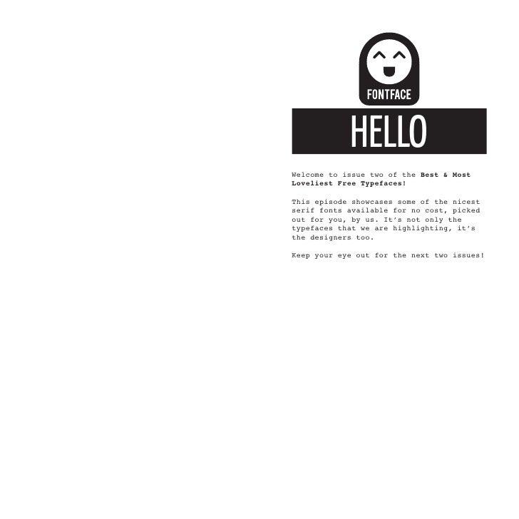BERGAMO           SEAN CAVANAUGHSan Deigo based Software developer by day,typographer founder of fontsite.com andcontribut...