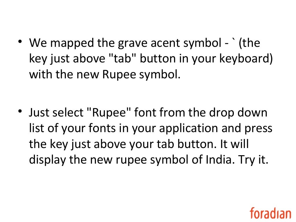 Rupee symbol word images symbol and sign ideas get the free rupee font buycottarizona biocorpaavc