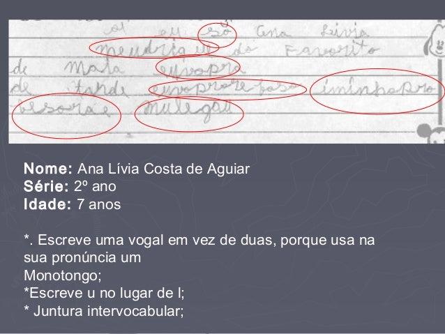Fonética e fonologia do português Slide 3