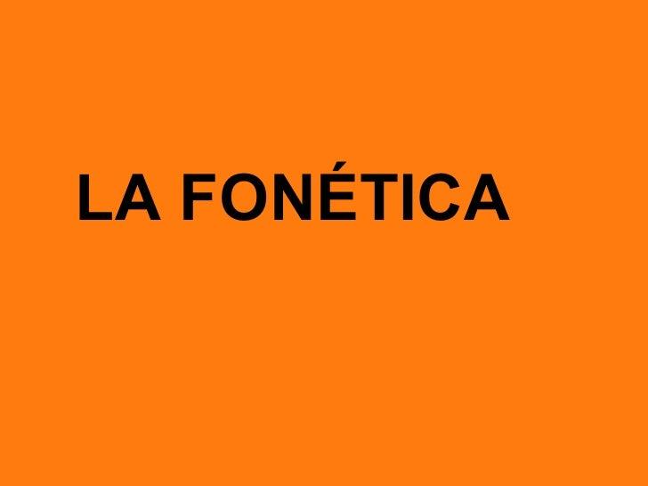 Fonética y fonología Slide 2