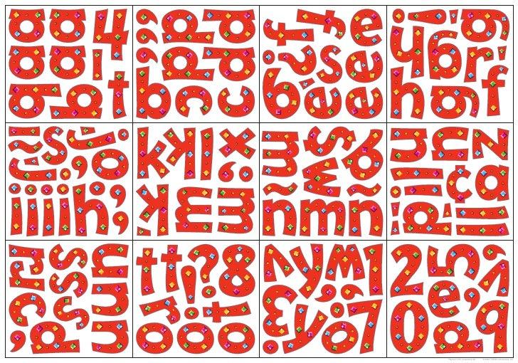 Playful 4 inch Lowercase die   © 2004 TREND enterprises, Inc.