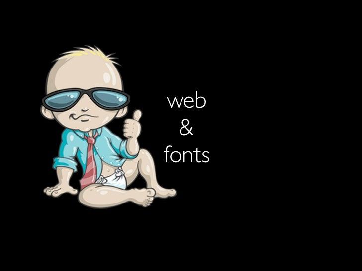 web  &fonts