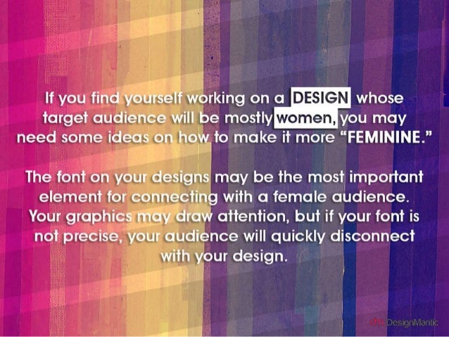 25 Festive Fonts For Women Oriented Businesses! Slide 2