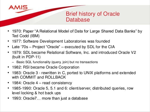 About Oracle