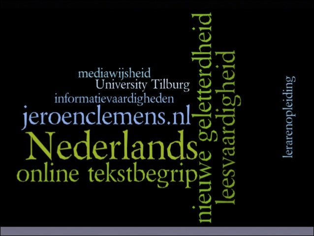 nieuwe vormen van communicatie en leren •  Digitale Netwerkmaatschappij  •  meeste informatie digitaal / online  •  87 pro...