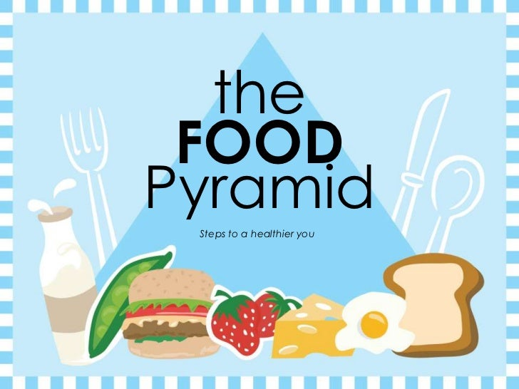 the FOODPyramid Steps to a healthier you