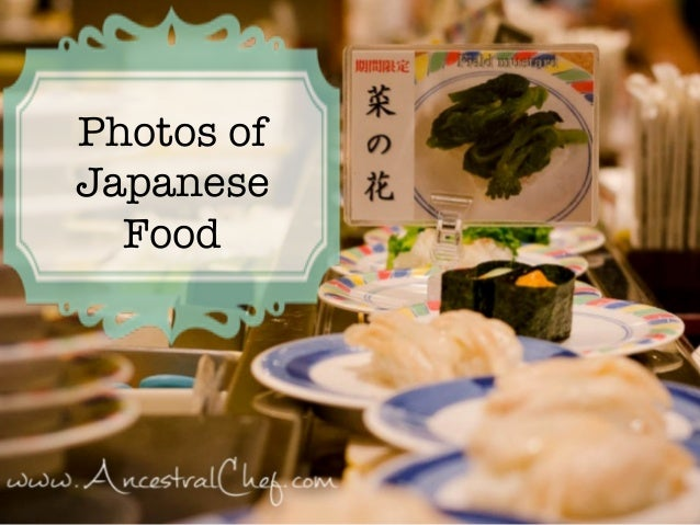 Photos of Japanese Food