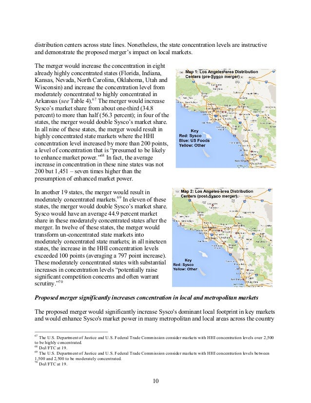 distribution centers across state lines. Nonetheless, the state concentration levels are instructive and demonstrate the p...