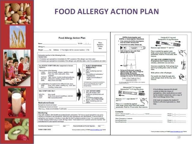 Addressing Food Allergies in Schools