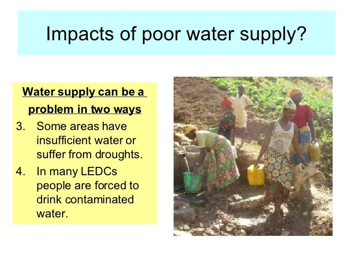 Food And Water Supply 2