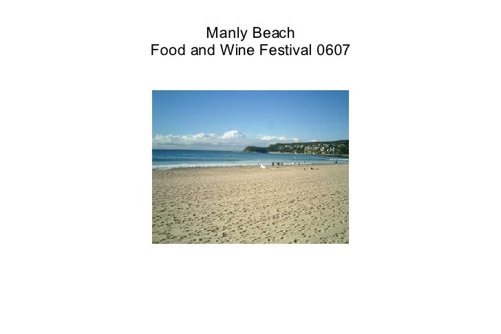 Manly Beach Food and Wine Festival 0607