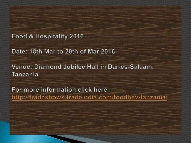 Food & Hospitality 2016