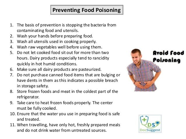 How to Naturally Prevent and Cure Food Poisoning Fast ...
