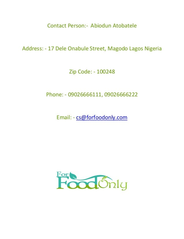 Buy healthy food recipes in nigeria for good living pdf 4 forumfinder Image collections