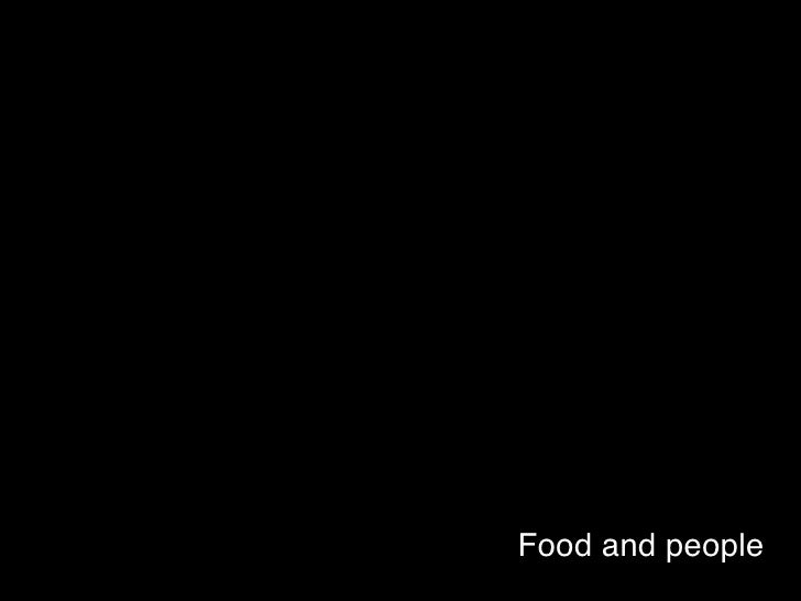 Food and people